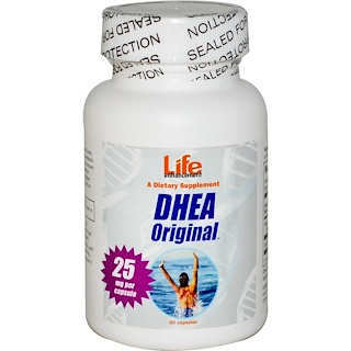 Life Enhancement, DHEA Original, 60 Capsules