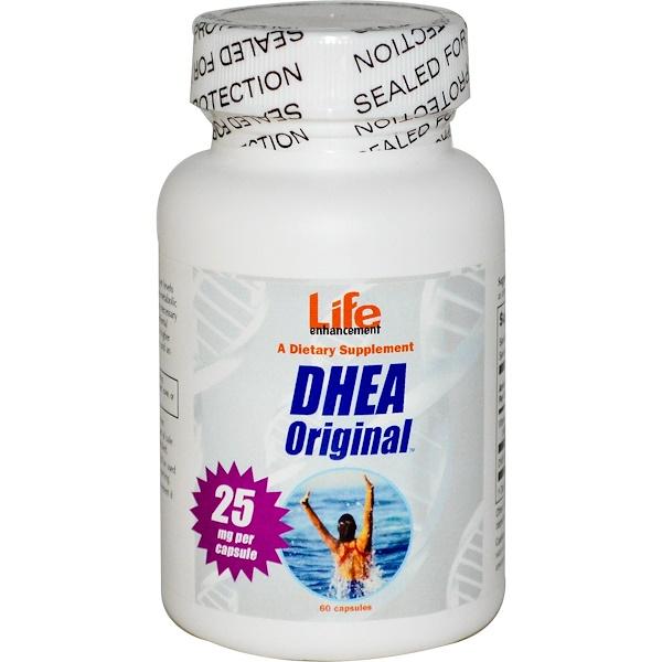 Life Enhancement, DHEA Original, 60 Capsules (Discontinued Item)