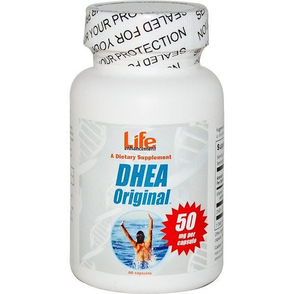 Life Enhancement, DHEA Original, 50 mg, 60 Capsules (Discontinued Item)