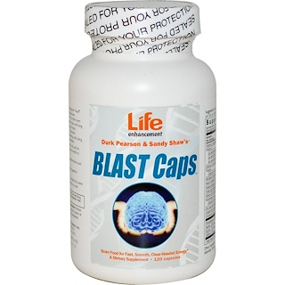 Life Enhancement, Blast Caps, 120 капсул