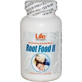 Life Enhancement, 루트 푸드 II, 120 캡슐