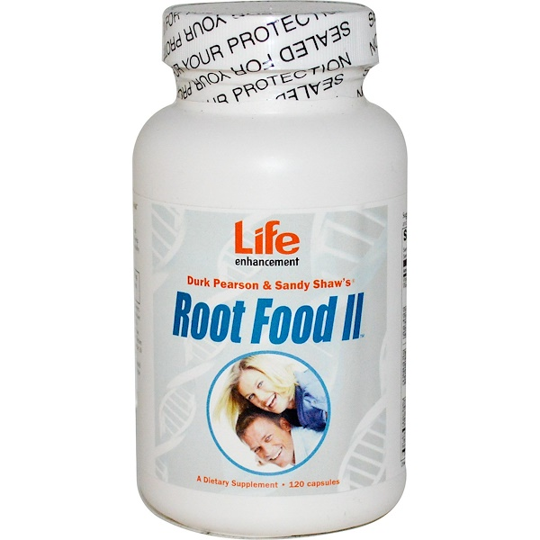 Life Enhancement, Root Food II, 120 Capsules (Discontinued Item)