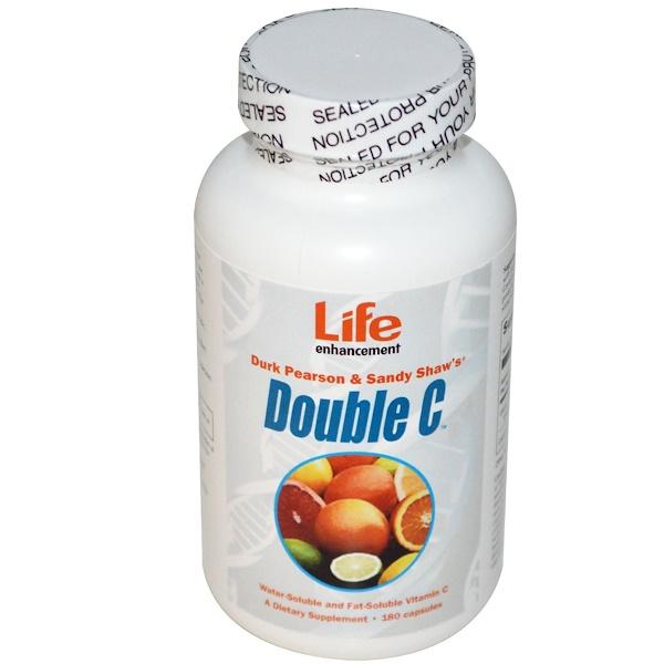 Life Enhancement, Double C, 180 Capsules (Discontinued Item)