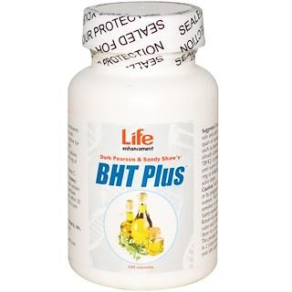 Life Enhancement, Durk Pearson & Sandy Shaw's BHT プラス , 100 カプセル