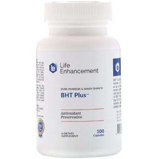 Life Enhancement, Durk Pearson & Sandy Shaw's BHT Plus, 100 Cápsulas
