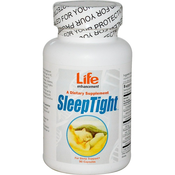 Life Enhancement, SleepTight, 90 Capsules (Discontinued Item)