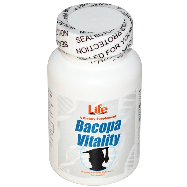 Life Enhancement, Bacopa Vitality, 90 cápsulas (Discontinued Item)