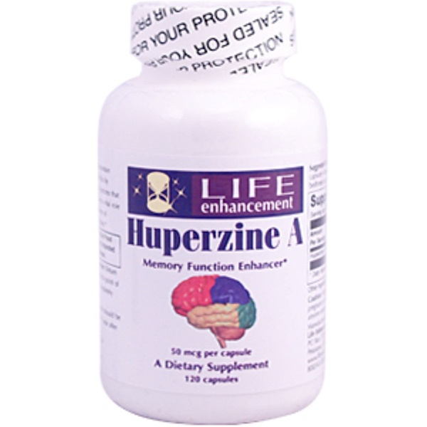 Life Enhancement, Huperzine A, 50 mcg, 120 Capsules (Discontinued Item)