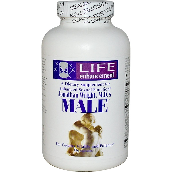 Life Enhancement, Jonathan Wright, M.D.'s Male, 150 Capsules (Discontinued Item)