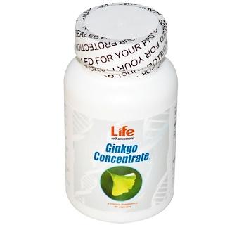 Life Enhancement, ギンコ(イチョウ)濃縮、90カプセル