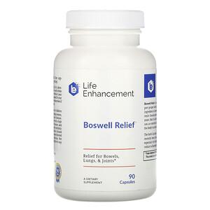 Лайф Энхэнсмент, Boswell Relief, 90 Capsules отзывы покупателей