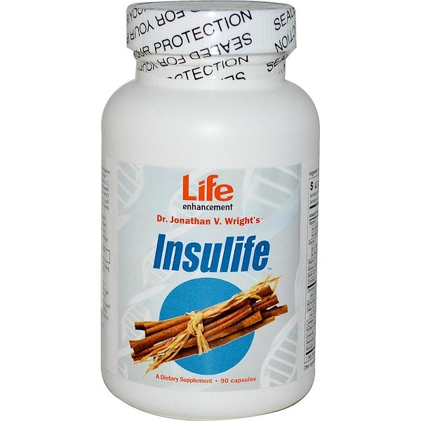 Life Enhancement, InsuLife, 90 Capsules (Discontinued Item)