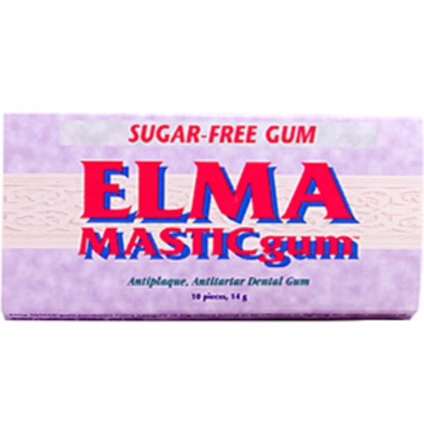 Life Enhancement, Elma Mastic Gum, 10 pieces (14 g) (Discontinued Item)