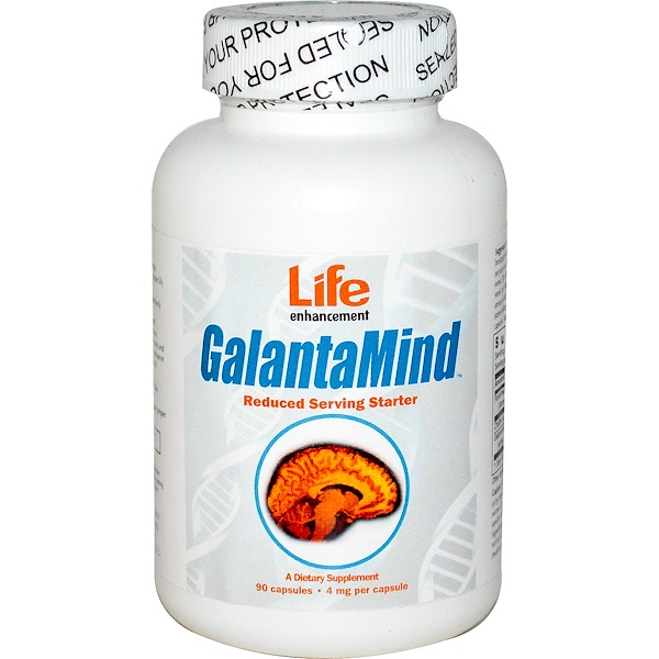 Life Enhancement, GalantaMind Starter, 4mg, 90 Capsules (Discontinued Item)