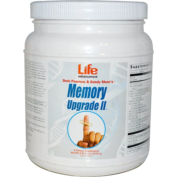 Life Enhancement, Memory Upgrade II, 2 lbs 11 oz (1232 g) (Discontinued Item)