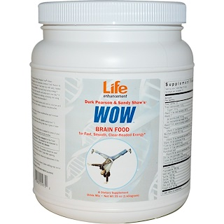 Life Enhancement, Durk Pearson & Sandy Shaw's、WOW、35 オンス(1 キロ)
