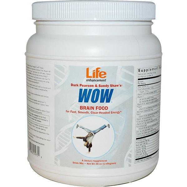 Life Enhancement, Durk Pearson & Sandy Shaw's, WOW, 35 oz (1 Kilogram) (Discontinued Item)
