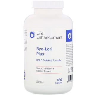Life Enhancement, Suplemento para Protección del Estómago Bye-Lori Plus, 180 Cápsulas