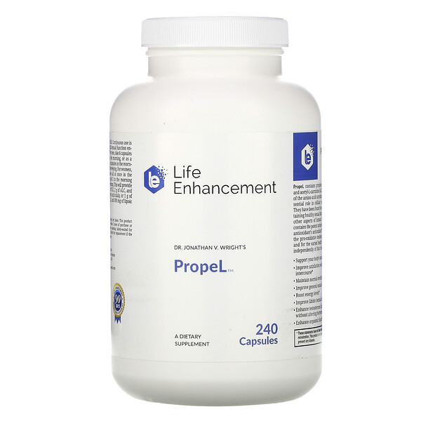 Life Enhancement, PropeL, 240 Capsules