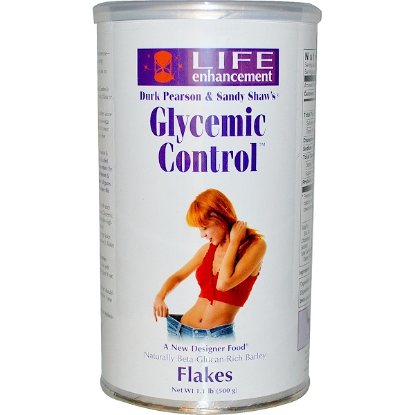 Life Enhancement, Glycemic Control Flakes, 1.1 lb (500 g) (Discontinued Item)