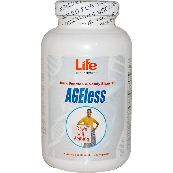 Life Enhancement, AGEless, 240 Capsules (Discontinued Item)