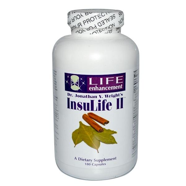 Life Enhancement, InsuLife II, 180 Capsules (Discontinued Item)