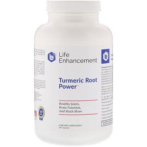 Лайф Энхэнсмент, Turmeric Root Power, 240 Capsules отзывы покупателей