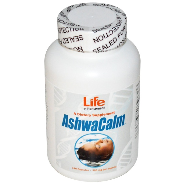AshwaCalm, 300 мг, 120 капсул