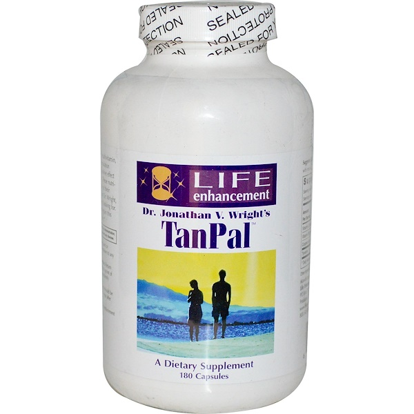 Life Enhancement, TanPal, 180 Capsules (Discontinued Item)