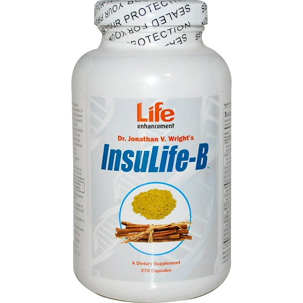 Life Enhancement, InsuLife-B, 270 Capsules (Discontinued Item)