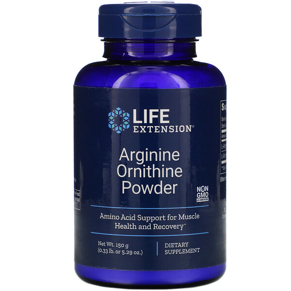 Arginine Ornithine Powder, 5.29 oz (150 g)