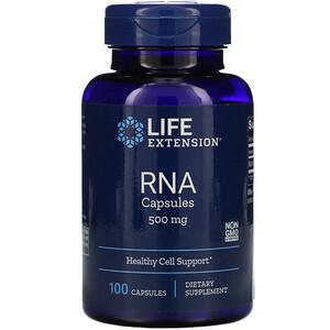 Лайф Экстэншн, RNA Capsules, 500 mg, 100 Capsules отзывы покупателей