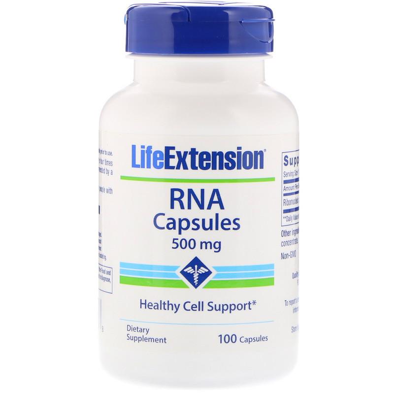 RNA Capsules, 500 mg, 100 Capsules