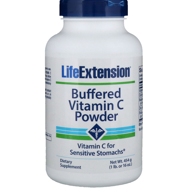 Life Extension, Buffered Vitamina C en Polvo , 16 oz (454 g)