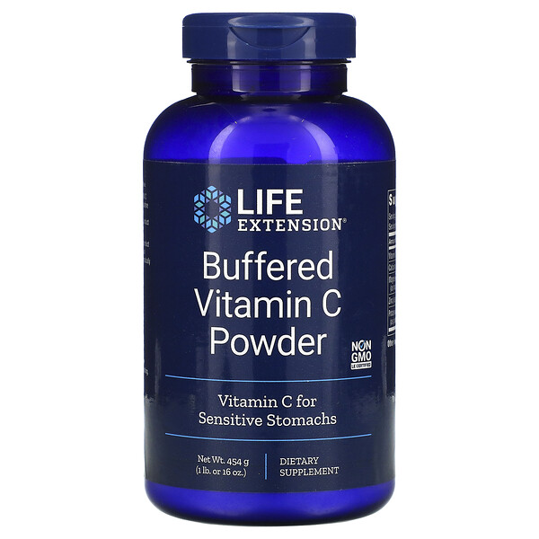 Buffered Vitamin C Powder, 16 oz (454 g)
