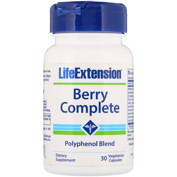 Life Extension, Berry Complete, 30 Vegetarian Capsules (Discontinued Item)