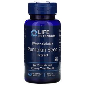 Лайф Экстэншн, Water-Soluble Pumpkin Seed Extract, 60 Vegetarian Capsules отзывы покупателей