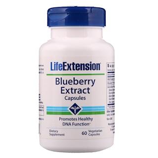 Life Extension, Blueberry Extract Capsules, 60 Veggie Caps