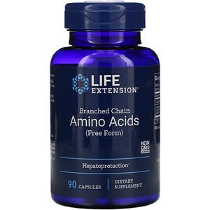 Лайф Экстэншн, Branched Chain Amino Acids, 90 Capsules отзывы покупателей