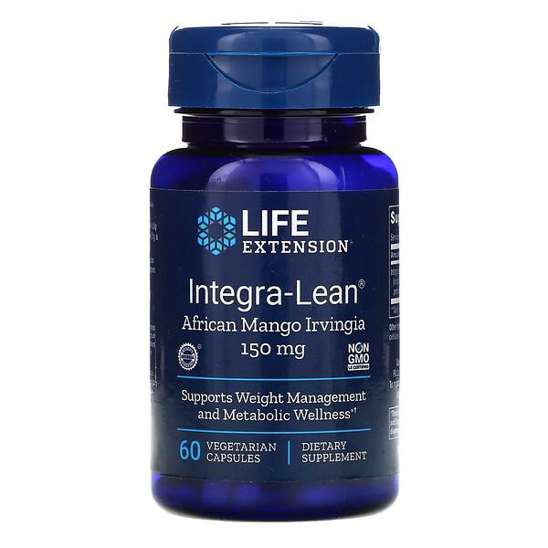 Integra-Lean, African Mango Irvingia, 150 mg, 60 Vegetarian Capsules