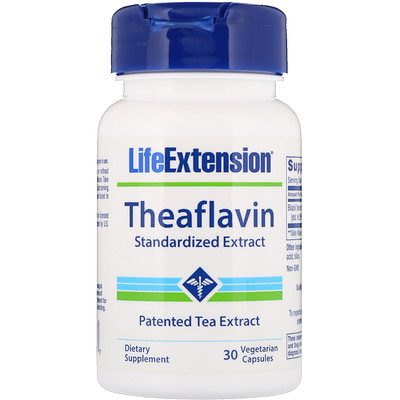 цены Theaflavin Standardized Extract, 30 Vegetarian Capsules