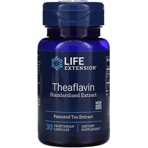 Лайф Экстэншн, Theaflavin Standardized Extract, 30 Vegetarian Capsules отзывы