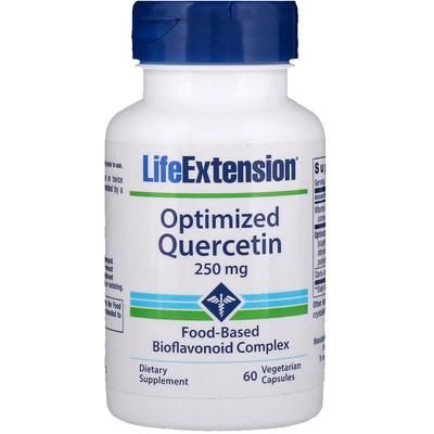 Кверцетин в оптимизированной форме, 250 мг, 60 вегетарианских капсул