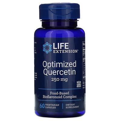 Life Extension Кверцетин в оптимизированной форме, 250 мг, 60 вегетарианских капсул