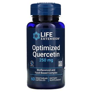 Life Extension, Quercetina optimizada, 250mg, 60cápsulas vegetales