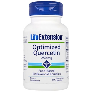 Life Extension, Optimized Quercetin, 250 mg, 60 Veggie Caps