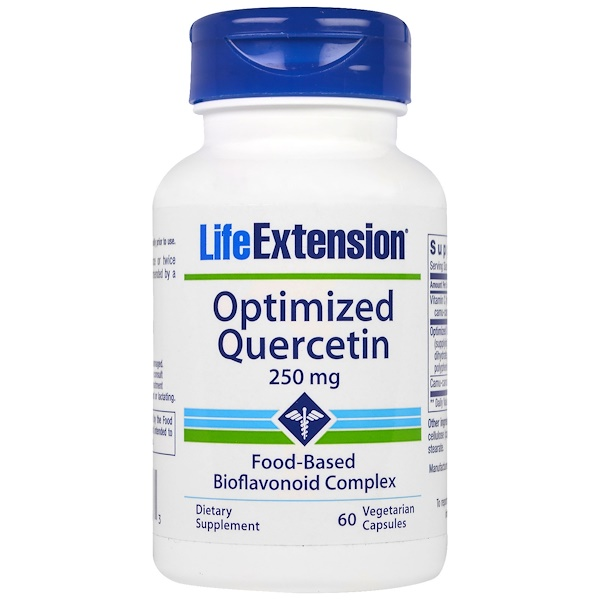 Life Extension, Optimized Quercetin, 250 mg, 60 Veggie Caps