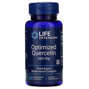 Лайф Экстэншн, Optimized Quercetin, 250 mg, 60 Vegetarian Capsules отзывы