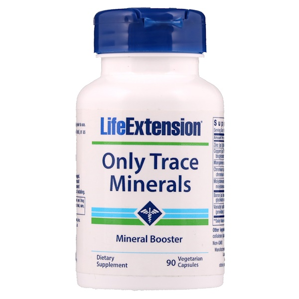 Life Extension, Only Trace Minerals, 90 Veggie Caps