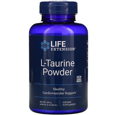 Life Extension L-таурин в порошке, 300г (10,58унции)